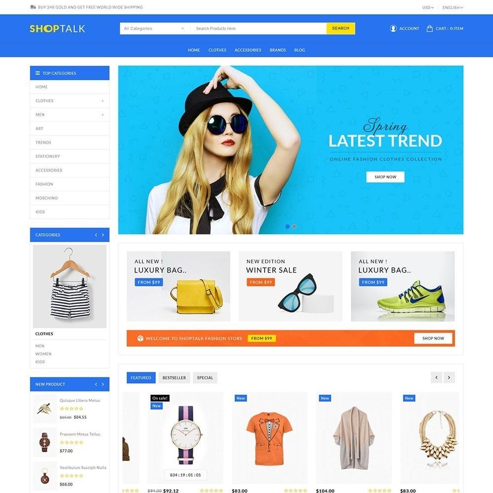 theme - Fashion & Shoes - Shoptalk Fashion Store - 2