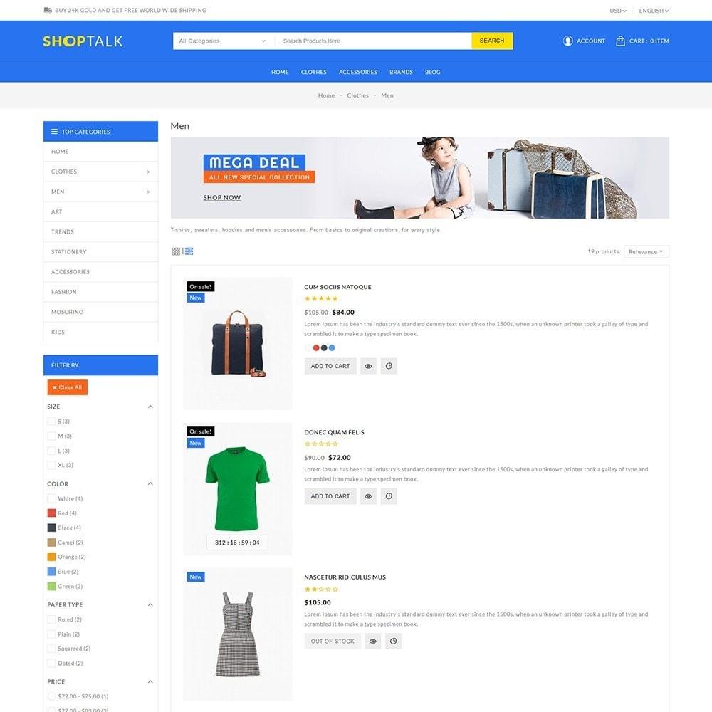 theme - Fashion & Shoes - Shoptalk Fashion Store - 5