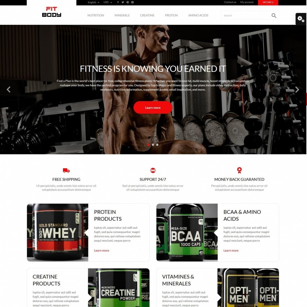 theme - Sports, Activities & Travel - Fit body - 2