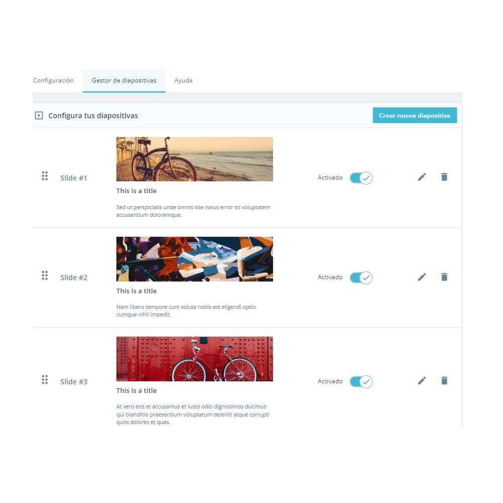 module - Sliders y Galerías de imágenes - Carrusel de inicio responsive - 7