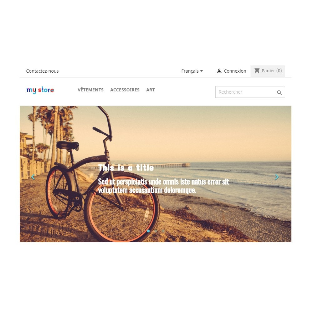 module - Slider & Gallerie - Homepage Slider - 2