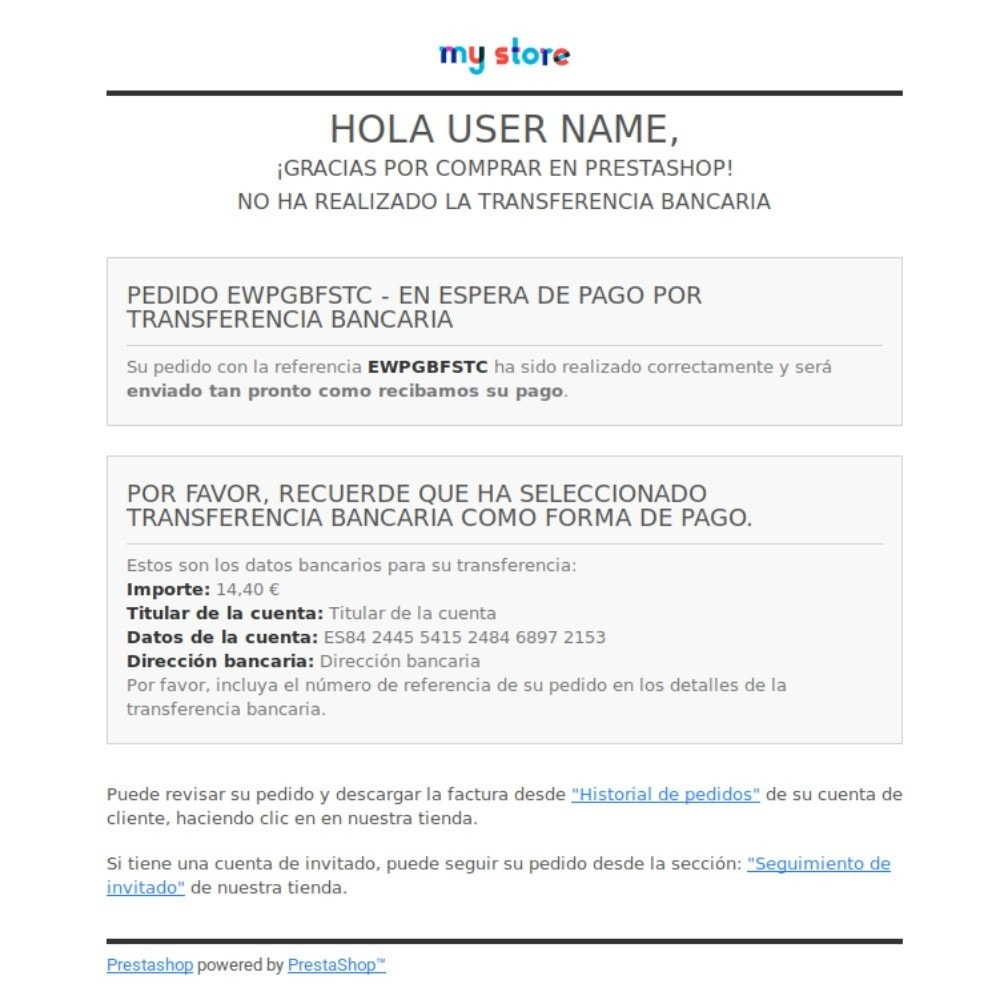 module - Remarketing y Carritos abandonados - Recordatorio de pago por transferencia - 4