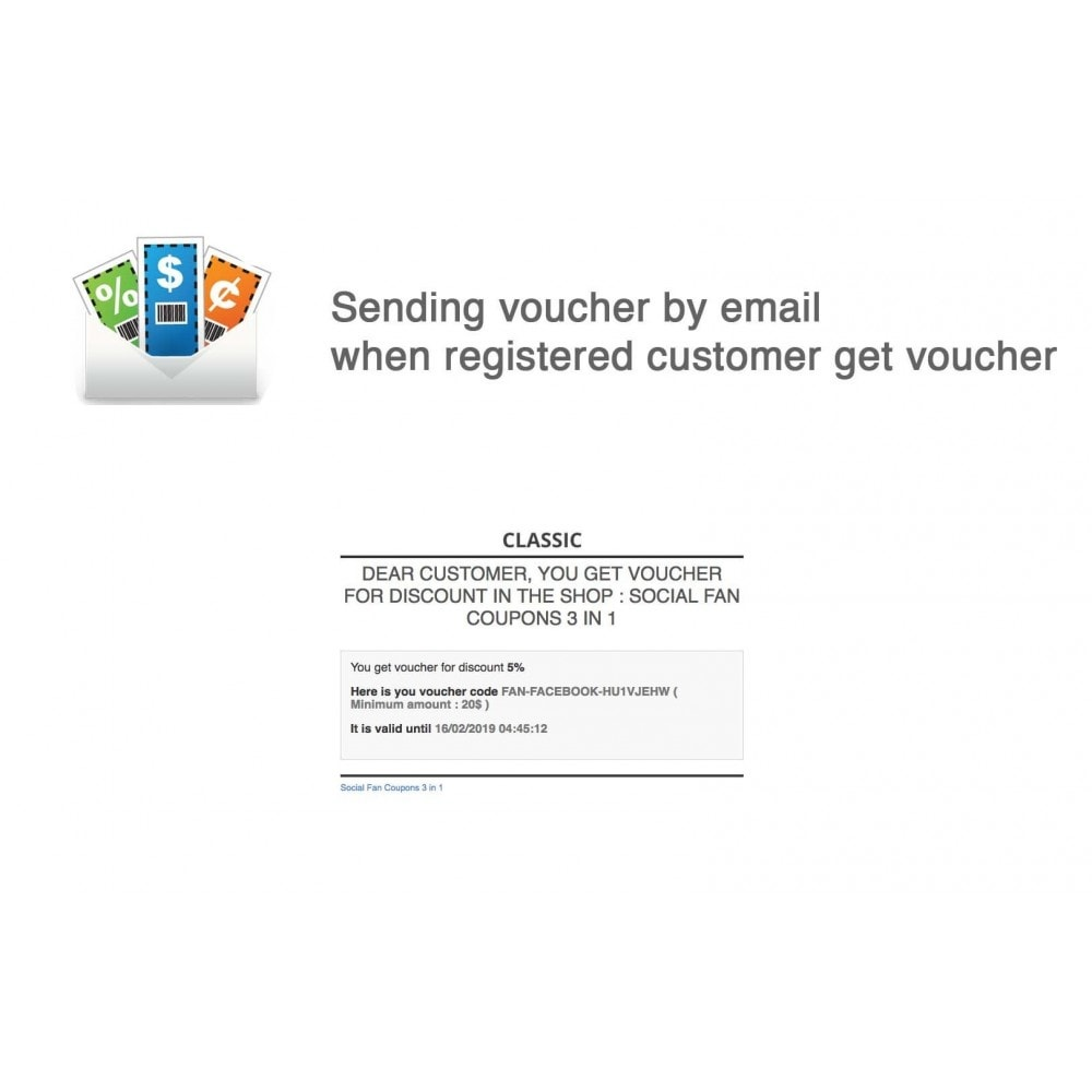 module - Social Rewards & Coupons - Social Fan Coupons (3 in 1) - 6