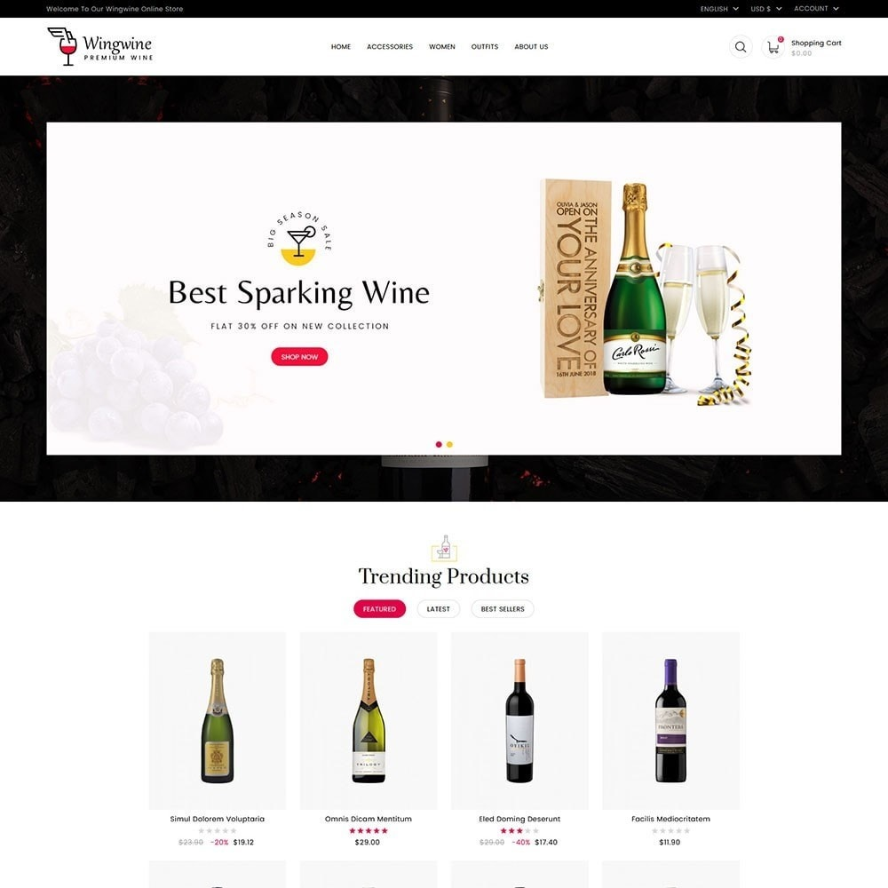 theme - Lingerie & Adultos - Wing Wine Store - 2