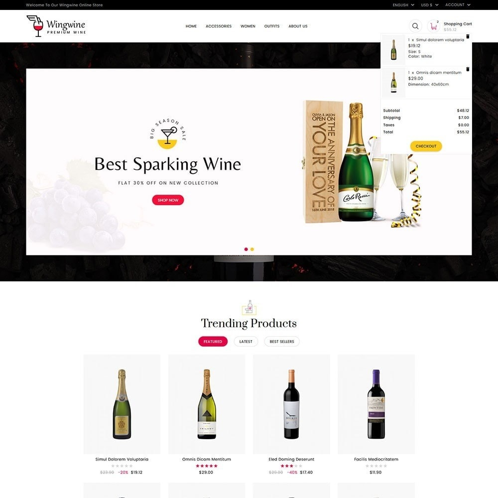 theme - Lingerie & Adultos - Wing Wine Store - 3
