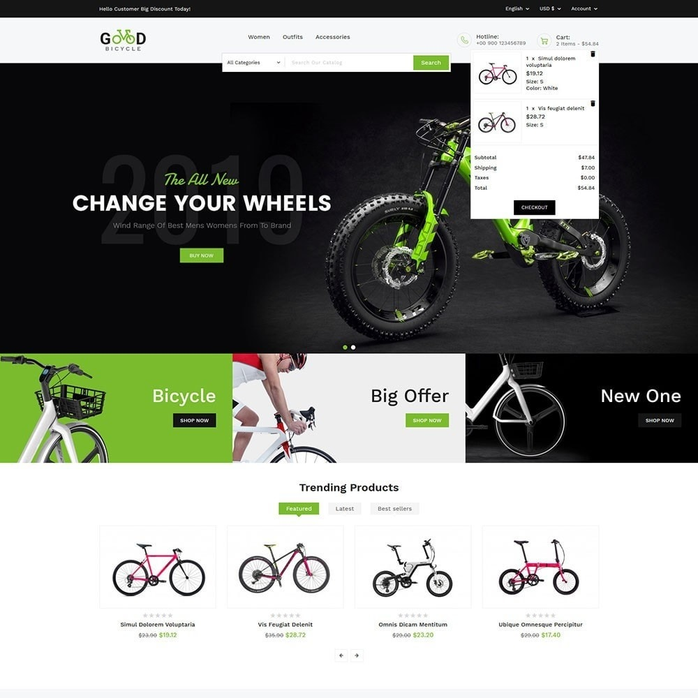 theme - Sports, Activities & Travel - Good Bicycle and Sports Store - 3