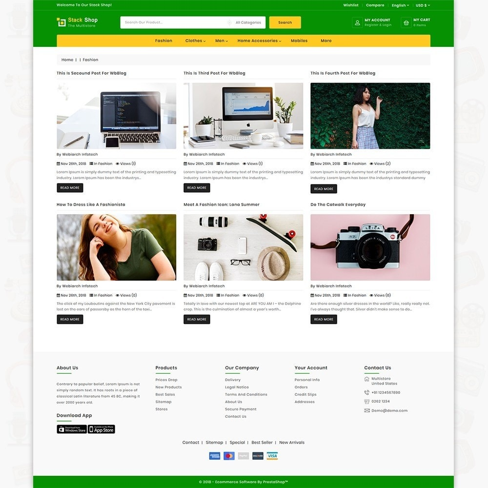theme - Elektronica & High Tech - StackShop - The MultiShop Store - 6