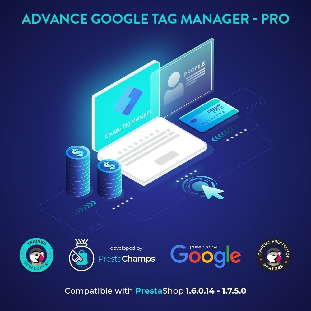 module - Analytics & Statistiche - Advance Google Tag Manager - PRO - 1