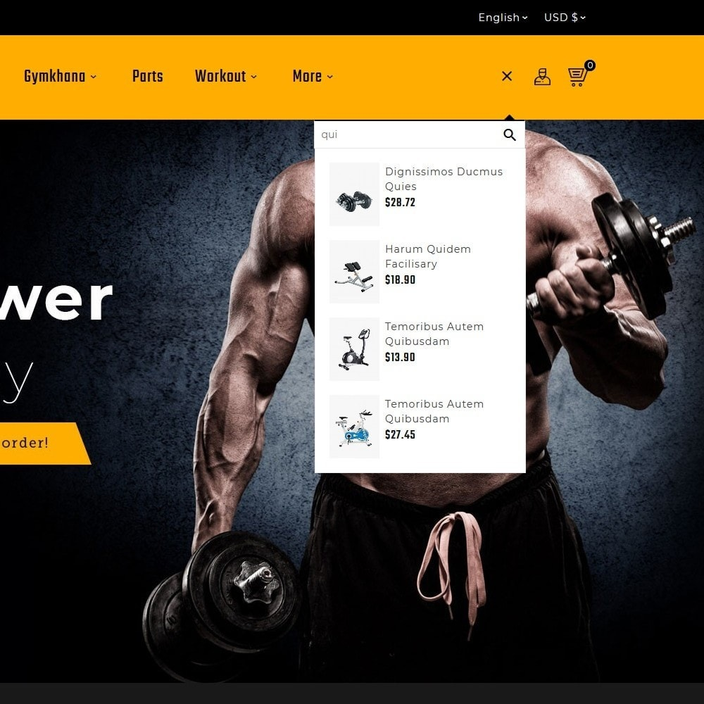 theme - Sports, Activities & Travel - Gym Power - Body Fitness - 9