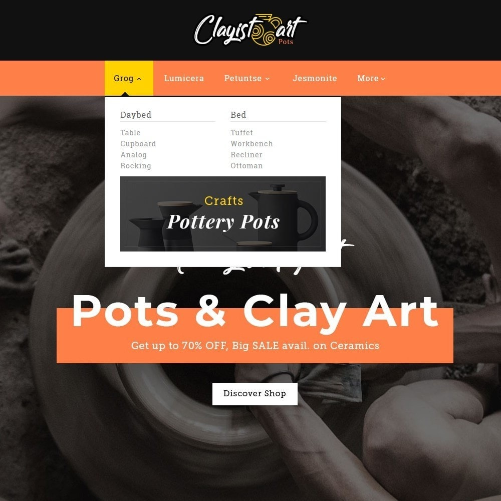 theme - Art & Culture - Clayist Art - Ceramic & Pottery - 8