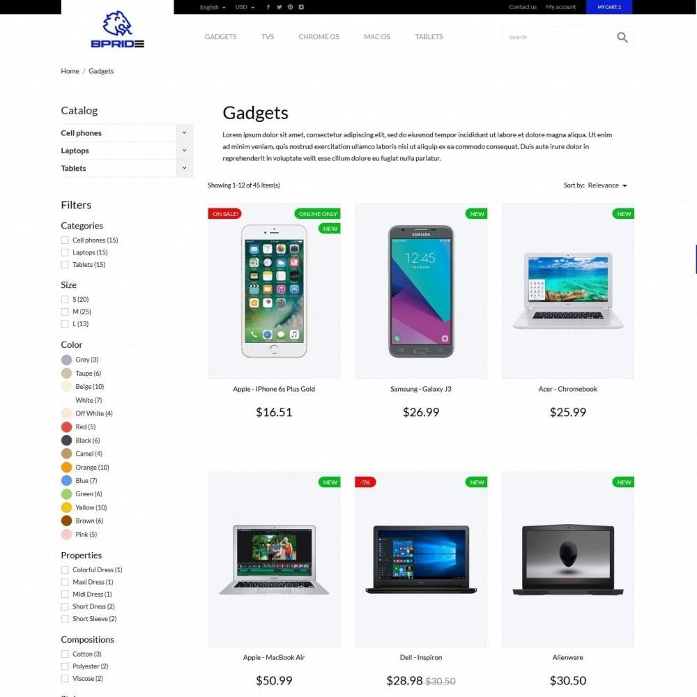 theme - Electronics & Computers - Pride - High-tech Shop - 5