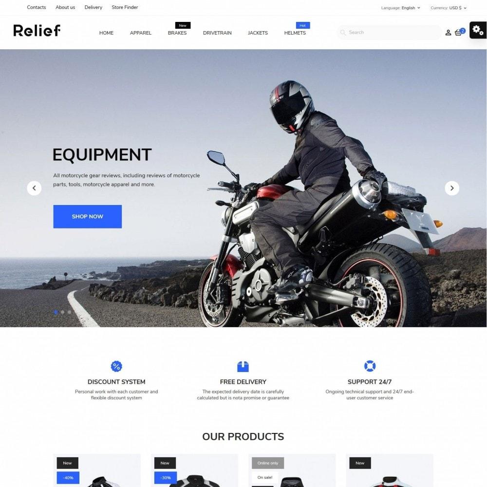 theme - Automotive & Cars - Relief - 2