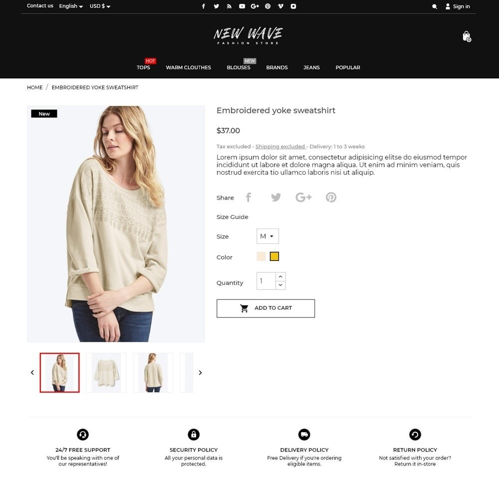 theme - Fashion & Shoes - New Wave Fashion Store - 5