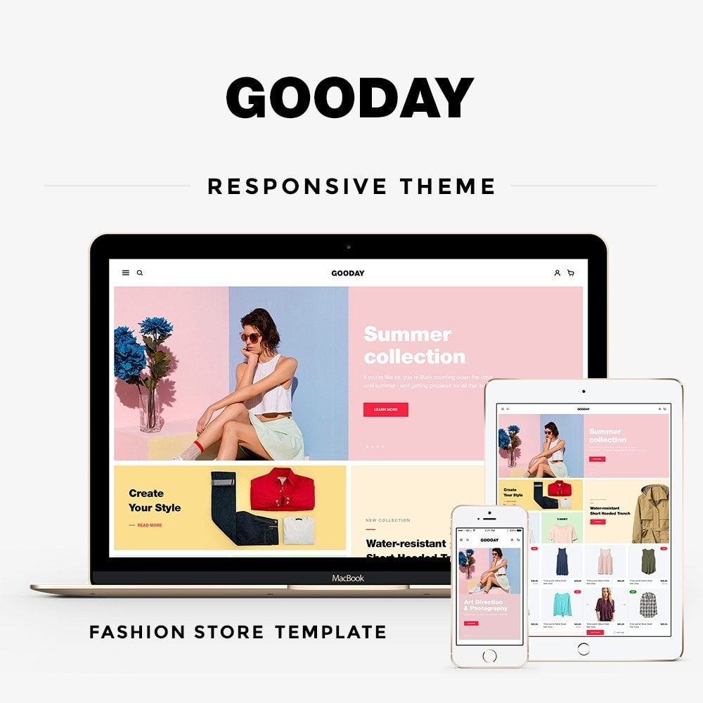 theme - Mode & Chaussures - Gooday Fashion Store - 1