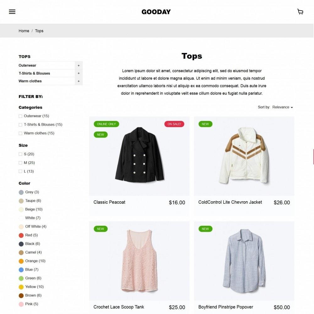theme - Moda y Calzado - Gooday Fashion Store - 5