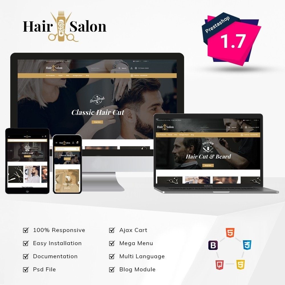 theme - Lenceria y Adultos - Hair Salon Store - 1