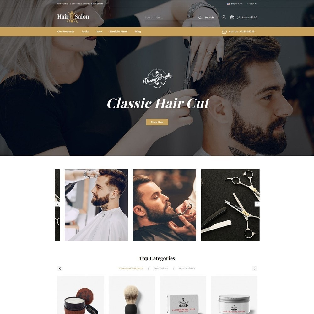 theme - Lingerie & Volwassenen - Hair Salon Store - 2