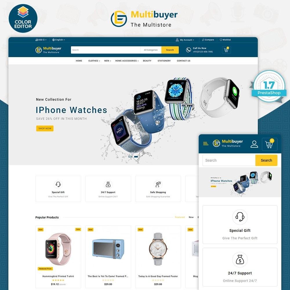 theme - Elettronica & High Tech - MultiBuyer - The Multishop - 1