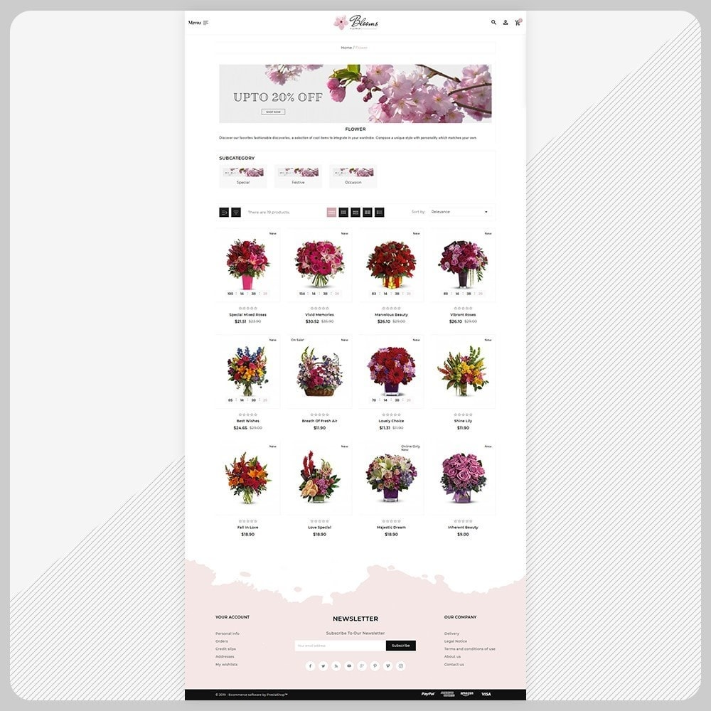 theme - Regali, Fiori & Feste - Fleur - Flower Super Mall - 3