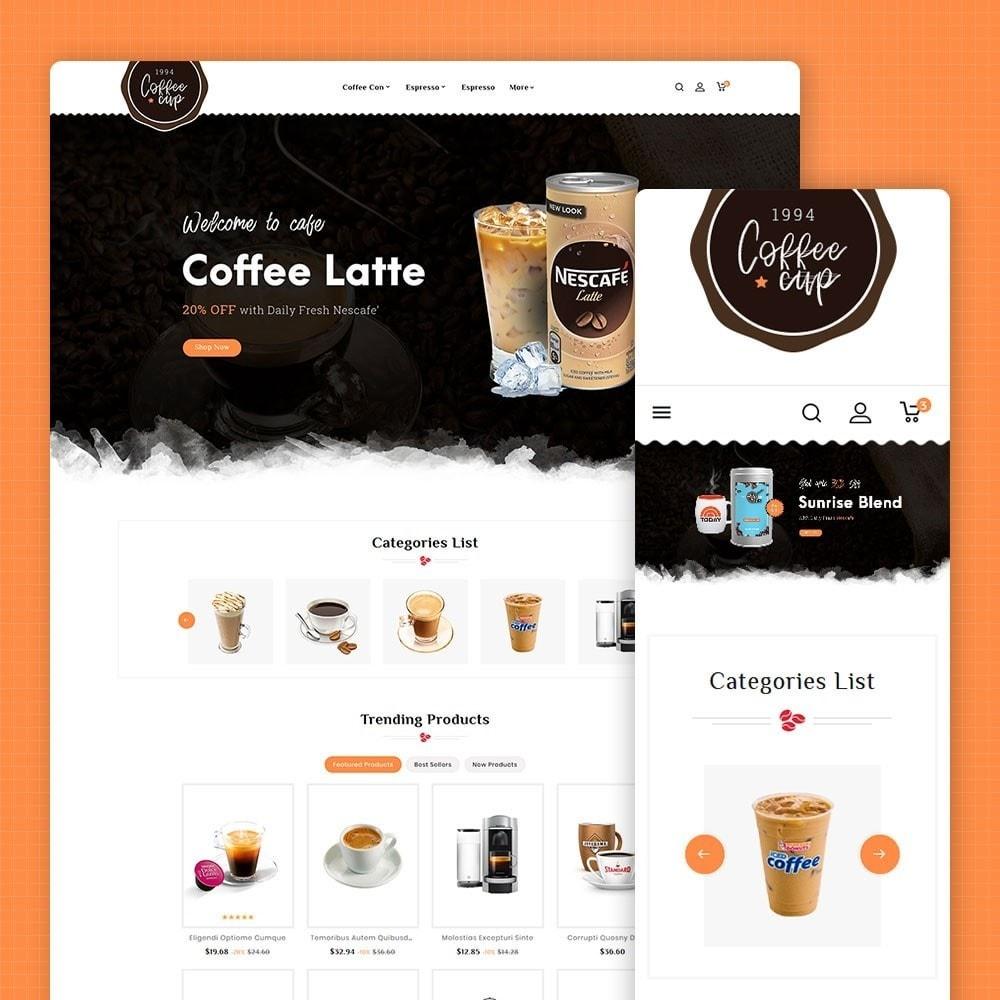 theme - Drank & Tabak - Coffee Cup & Shake - 1