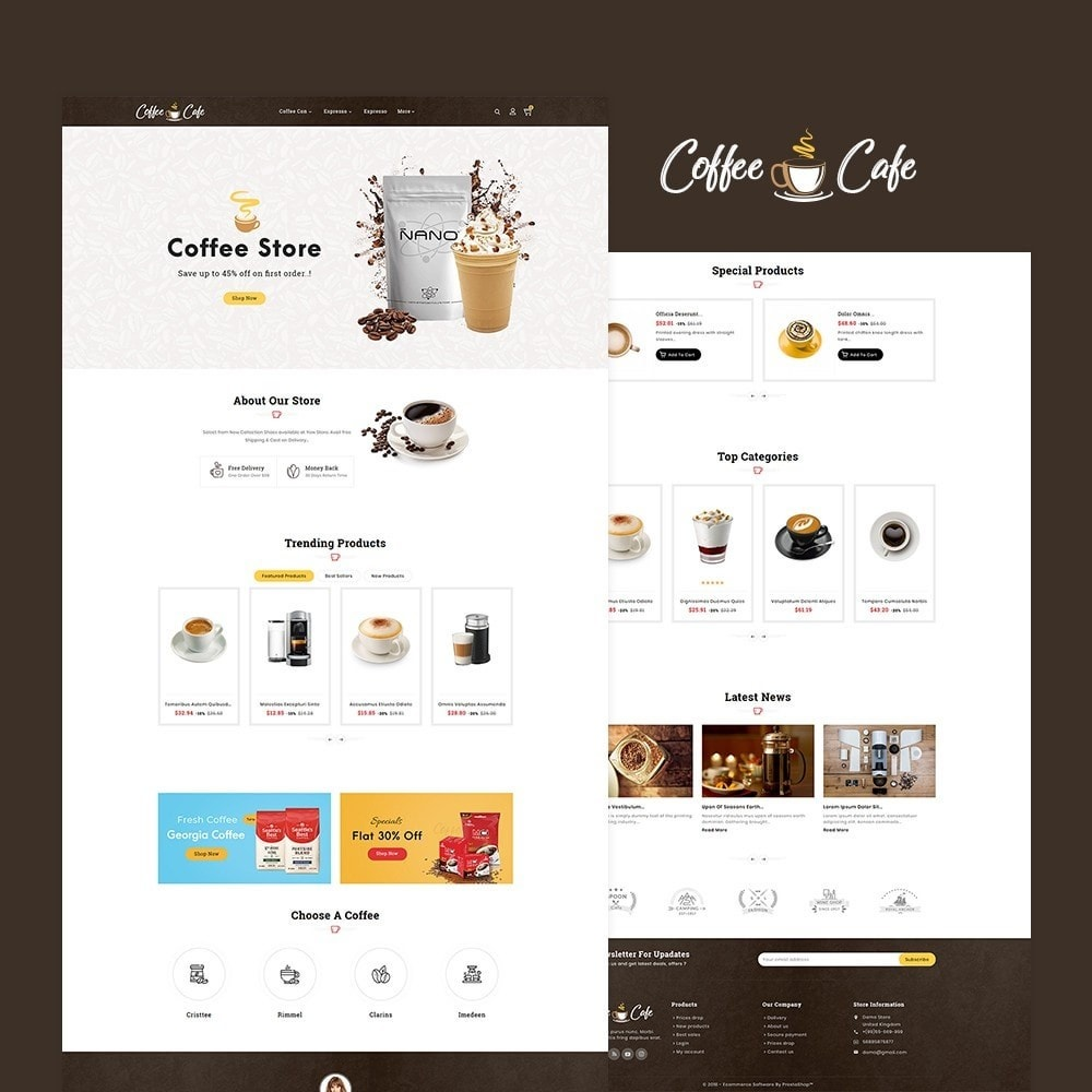 theme - Drank & Tabak - Coffee Cafe & Drinks - 2