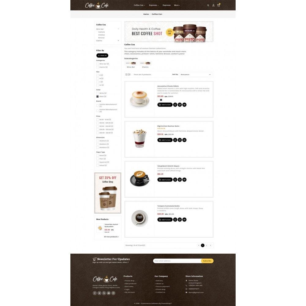 theme - Drank & Tabak - Coffee Cafe & Drinks - 4