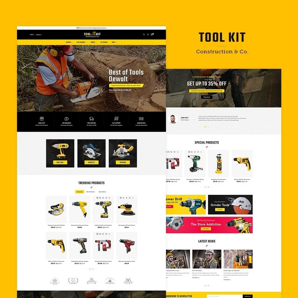 theme - Дом и сад - Tool Kit & Equipment - 2