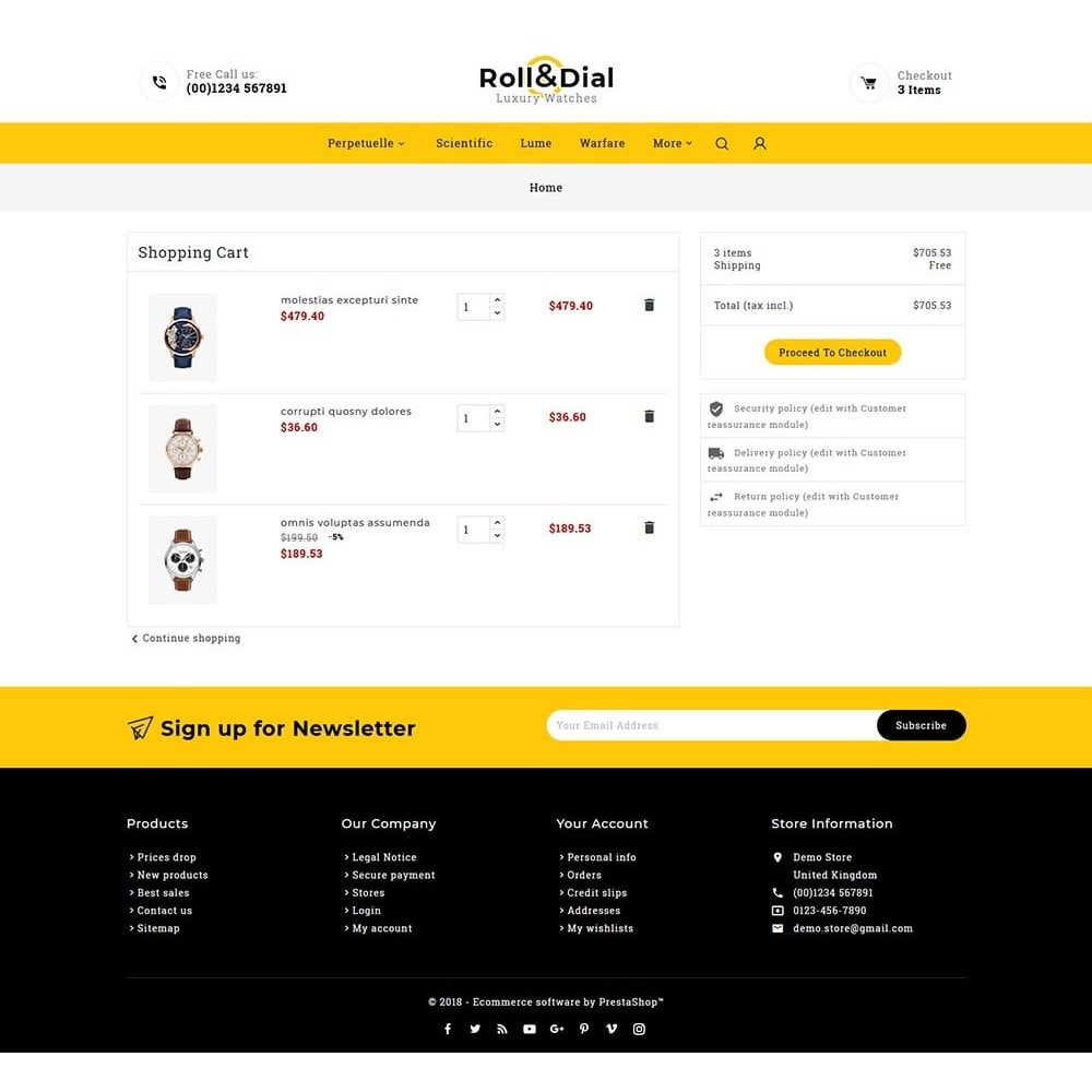 theme - Sieraden & Accessoires - Rolls & Dial - Watches - 6
