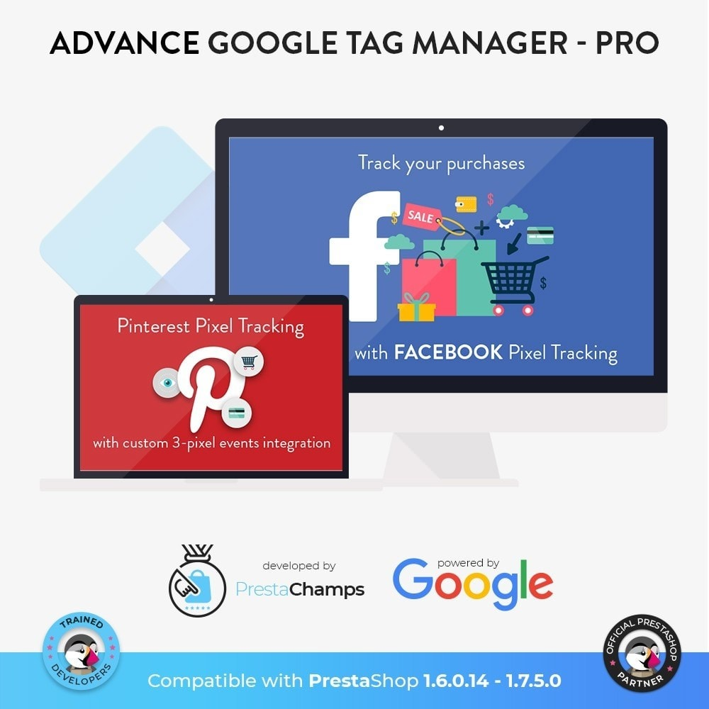 module - Analyses & Statistieken - Advance Google Tag Manager - PRO - 7