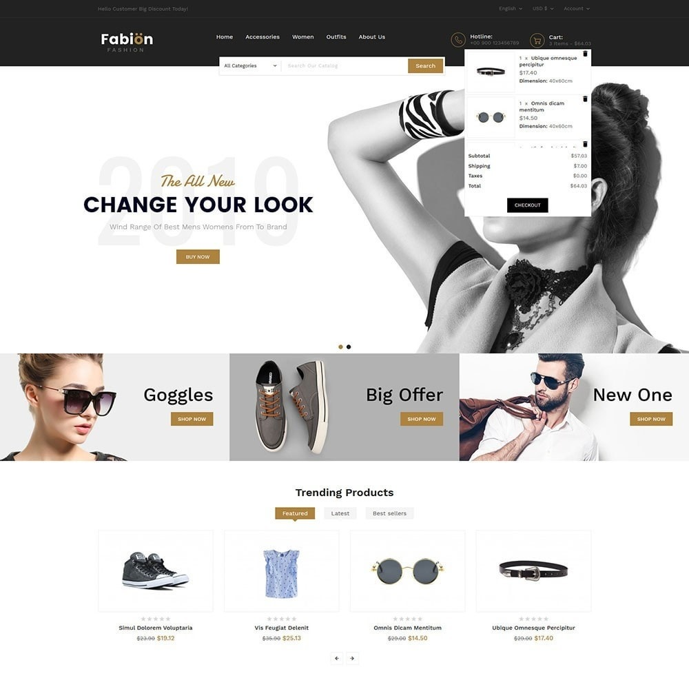 theme - Fashion & Shoes - Fabion Fashion Store - 3