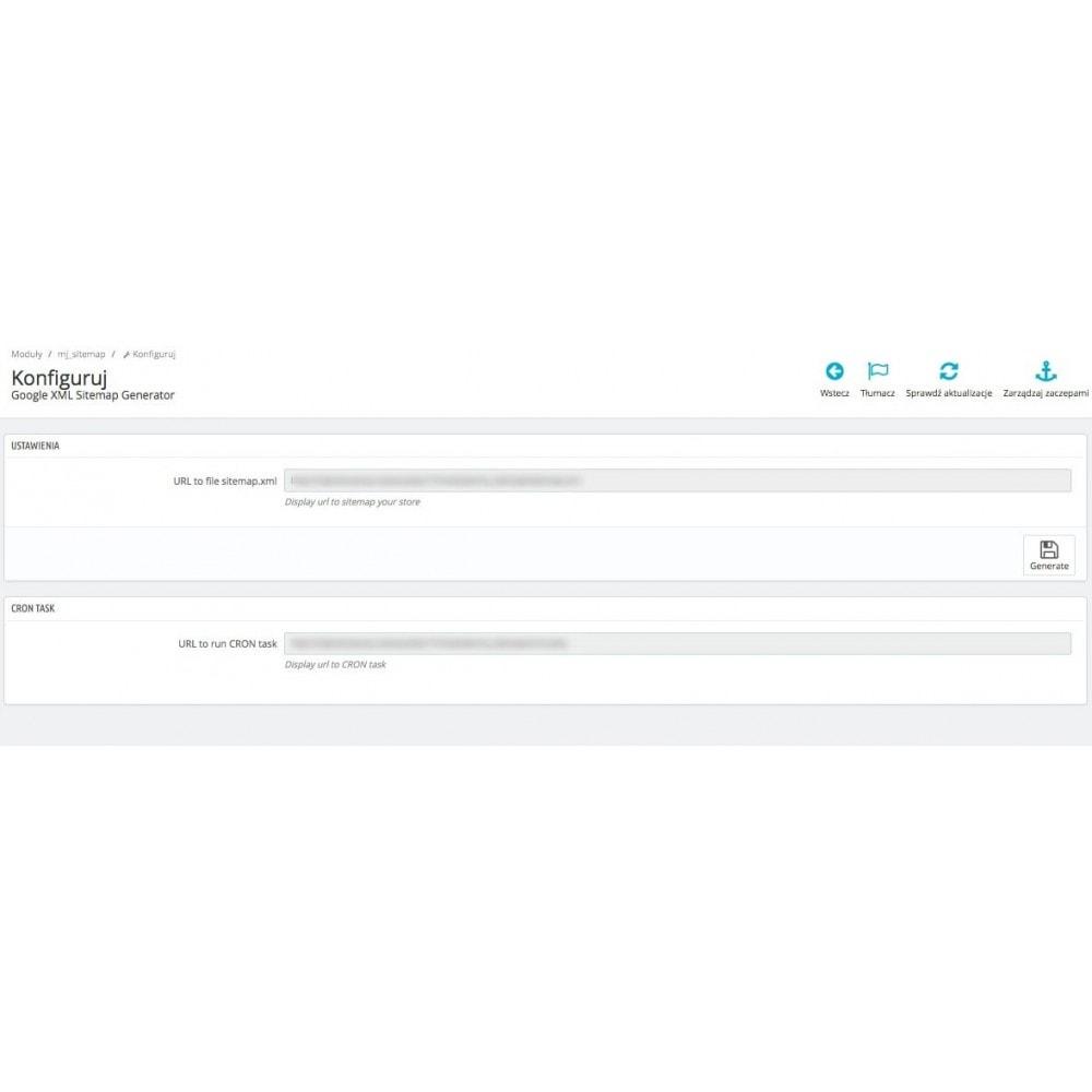 module - SEO - Google XML Sitemap Generator - 2