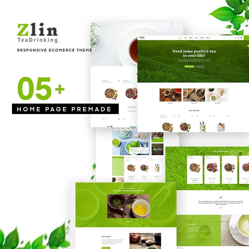 theme - Drink & Tobacco - Leo Zlin Tea Store - 1
