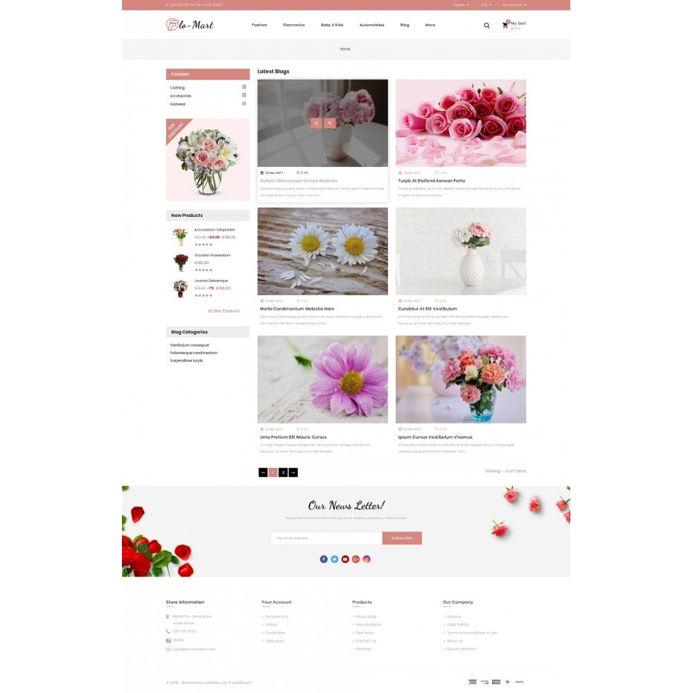 theme - Gifts, Flowers & Celebrations - Flowmart - Flowers Store - 9