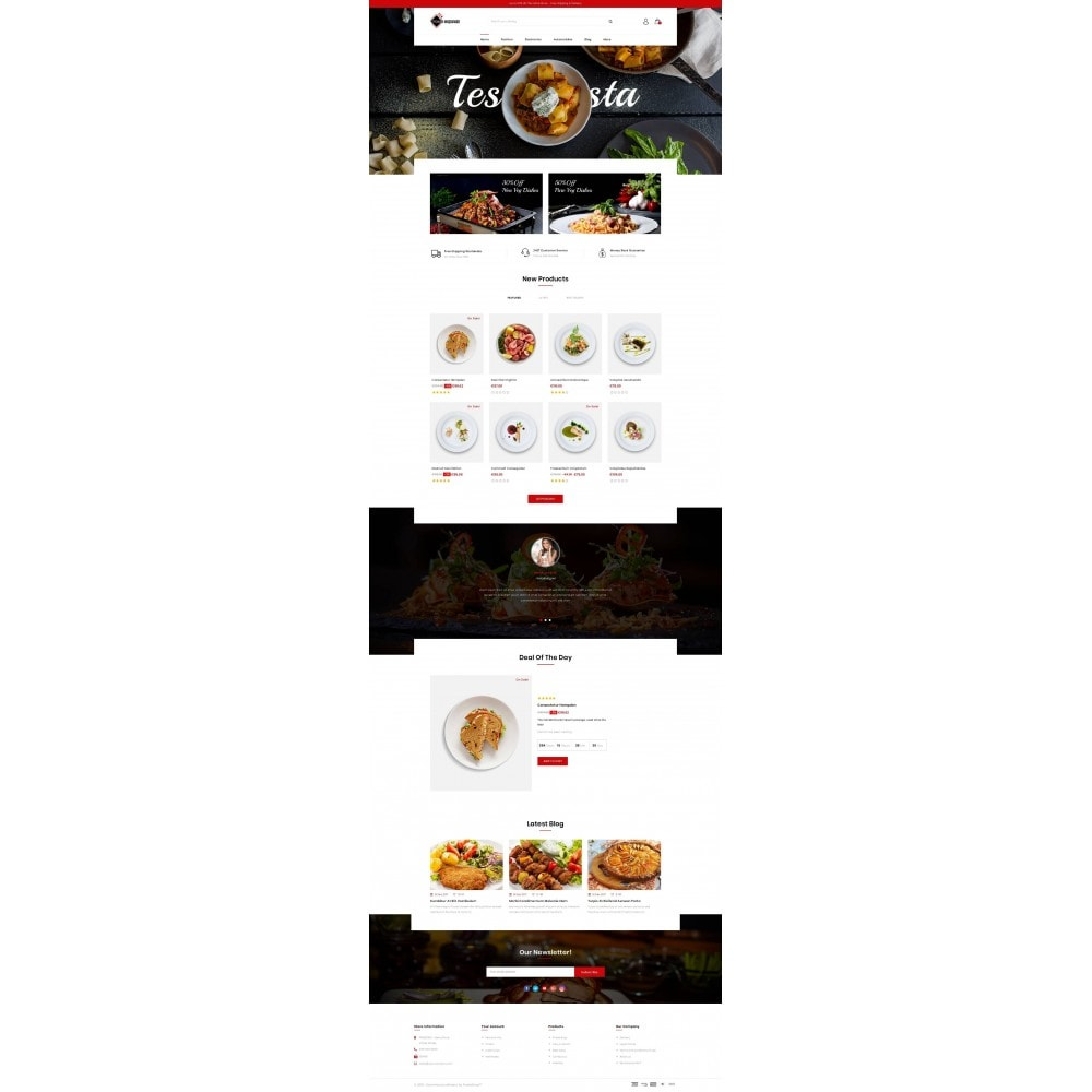 theme - Продовольствие и рестораны - Food Square - Restaurant Store - 2