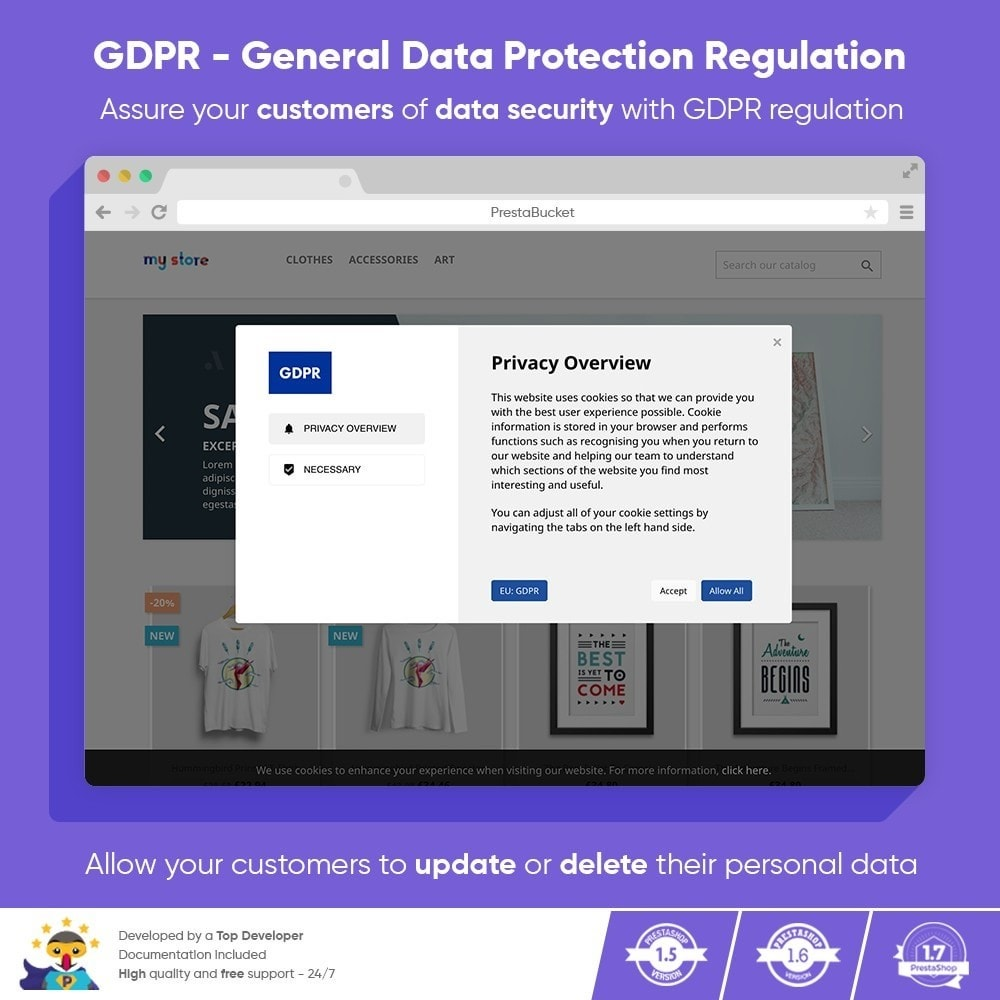 module - Legal - GDPR PRO General Data Protection Regulation - ALL in 1 - 1