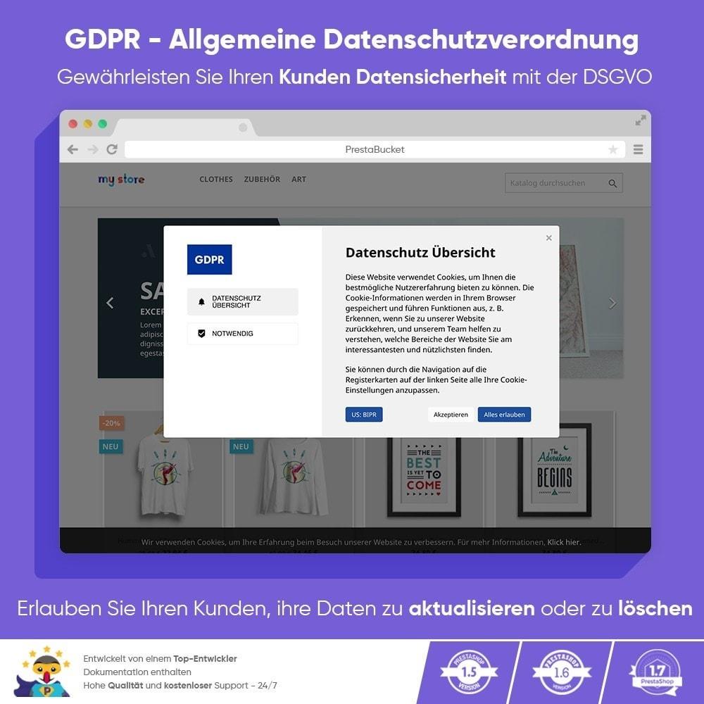 module - Rechtssicherheit - DSGVO PROFI - Datenschutz-Grundverordnung - ALL in 1 - 1