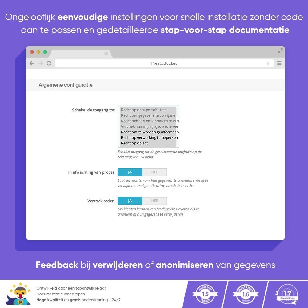 module - Juridisch - AVG PRO - Algemene Verordening Gegevensbescherming - 3