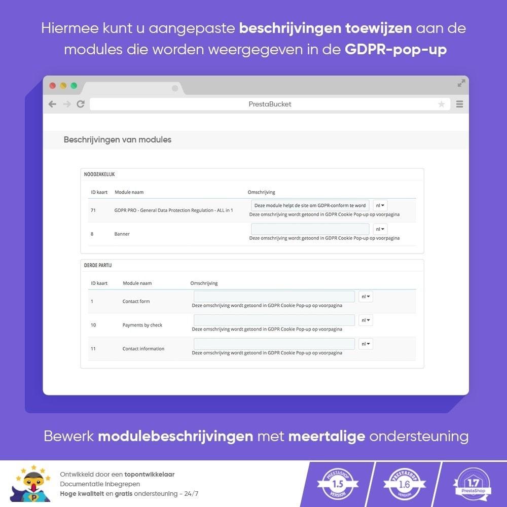 module - Juridisch - AVG PRO - Algemene Verordening Gegevensbescherming - 8