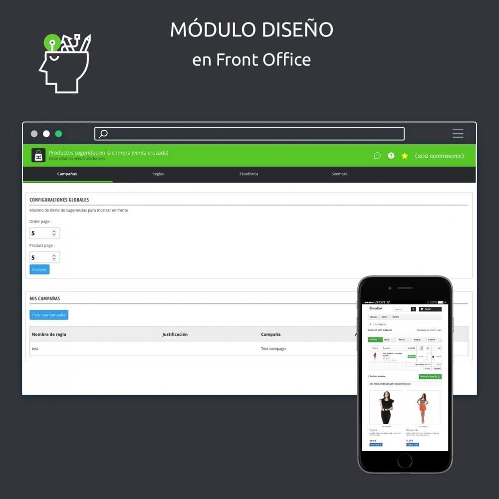 module - Ventas cruzadas y Packs de productos - Sugerencia de productos en el carrito - 7