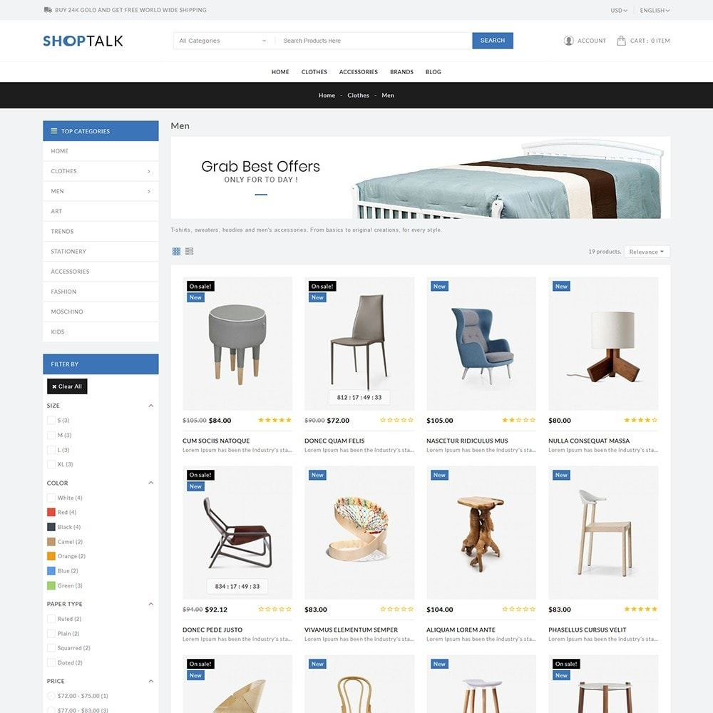 theme - Hogar y Jardín - ShopTalk Furniture Store - 4
