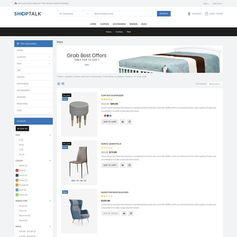 theme - Hogar y Jardín - ShopTalk Furniture Store - 5