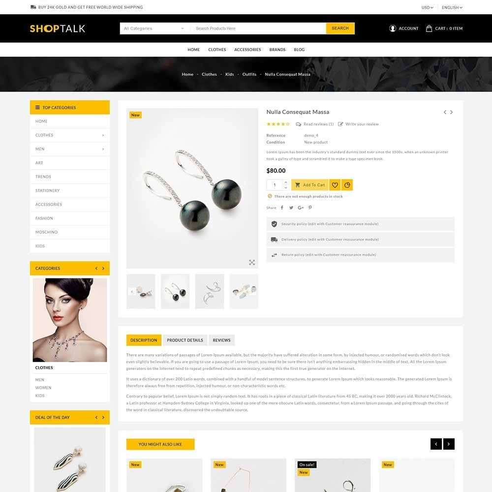 theme - Jewelry & Accessories - ShopTalk Jewellery Store - 6