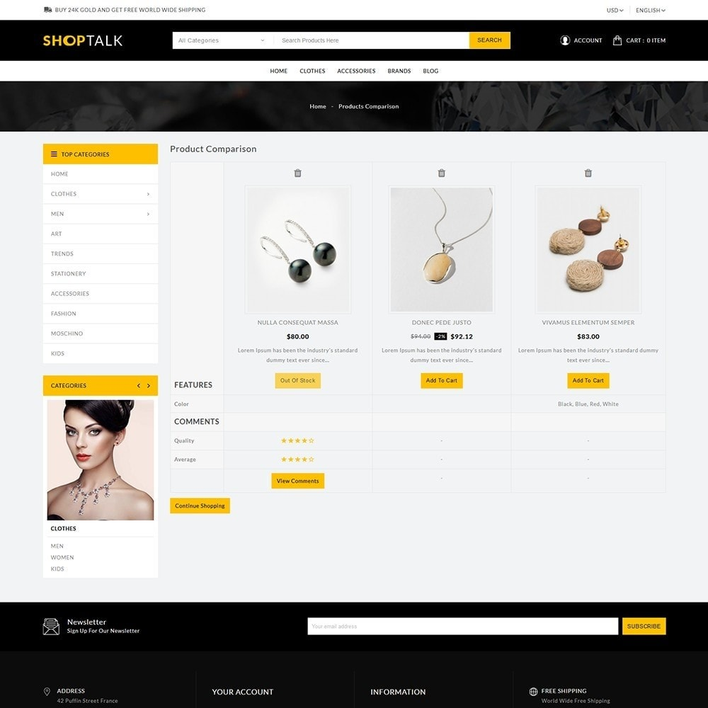 theme - Jewelry & Accessories - ShopTalk Jewellery Store - 7