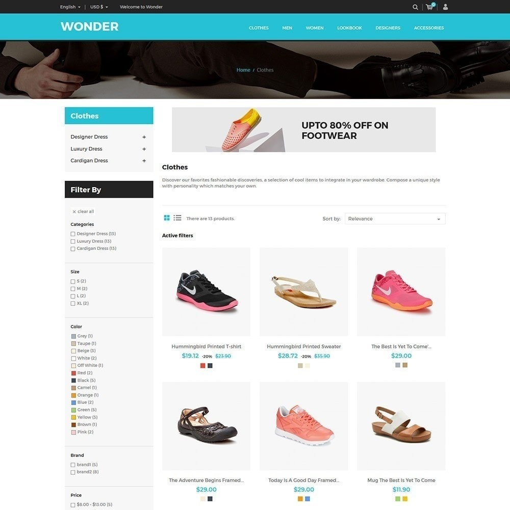 490394fa2c theme - Moda   Calçados - Wonder Fashion - Loja de calçados - 4
