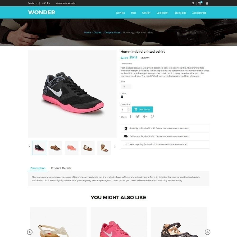 6fe8129e08 theme - Moda   Calçados - Wonder Fashion - Loja de calçados - 6