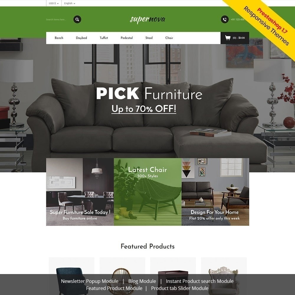 theme - Дом и сад - Super Nova - Мебельный магазин - 2