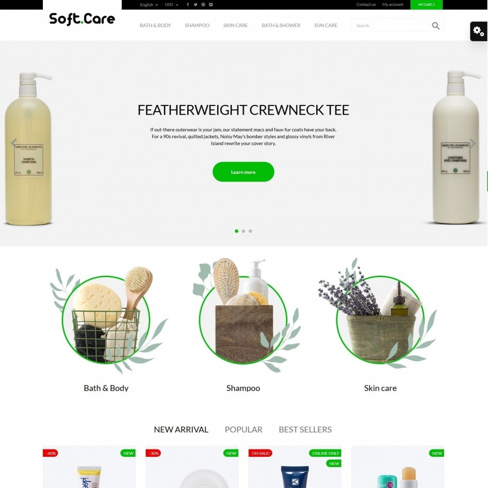 theme - Health & Beauty - Soft care Cosmetics - 2