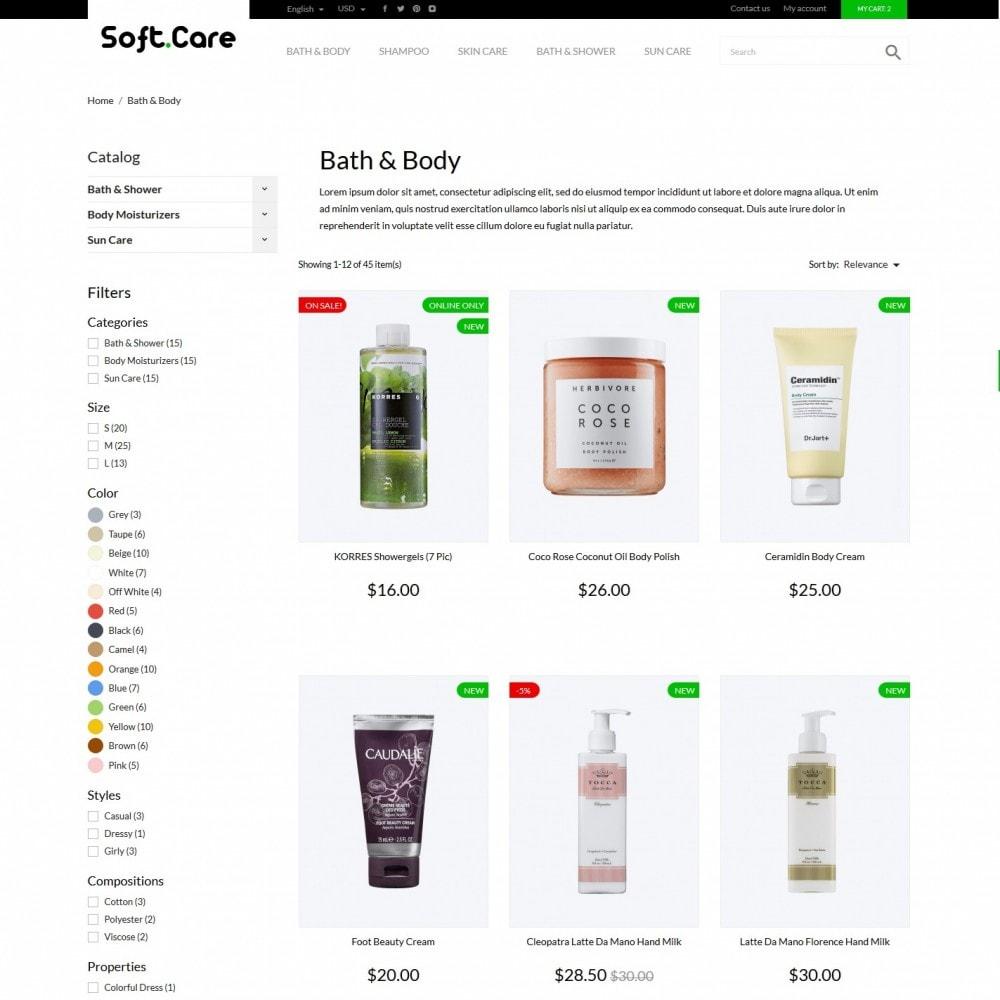 theme - Health & Beauty - Soft care Cosmetics - 4