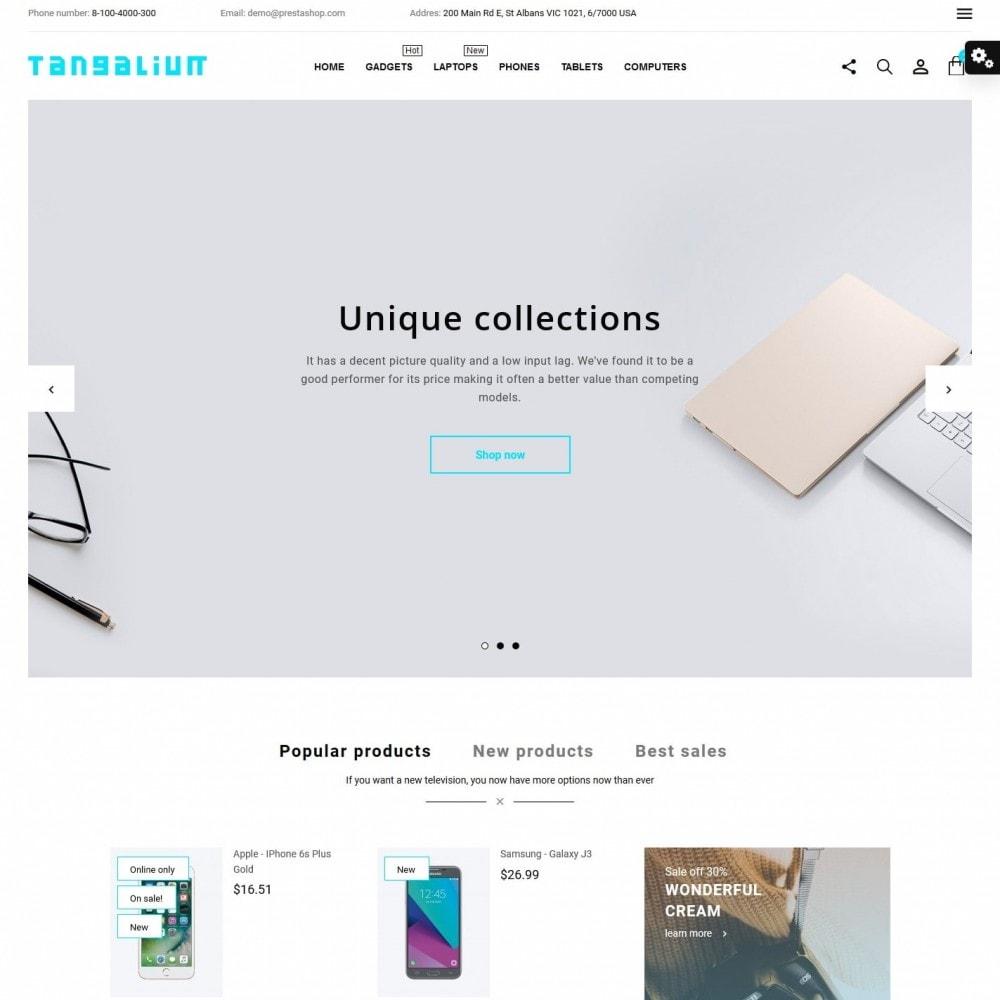 theme - Electronics & Computers - Tangalium - High-tech Shop - 2
