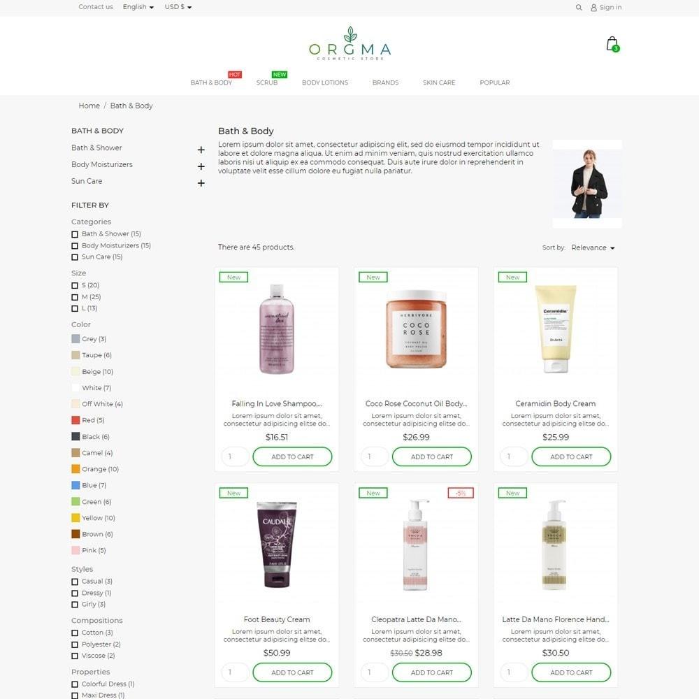theme - Health & Beauty - Orgma Cosmetics - 5